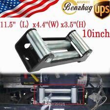 1Pc 10inch Winch Roller Firelead Universal Steel 17500Lbs For Truck Trailer Car