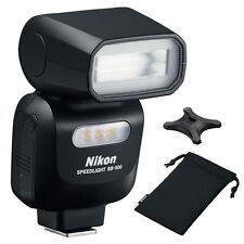 Nikon SB-500 AF Speedlight Flash 4814 For Nikon DSLR Camera (Black)