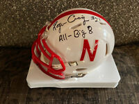 ROGER CRAIG NEBRASKA CORNHUSKERS SIGNED AUTO Mini-Helmet JSA COA INSCRIPTION