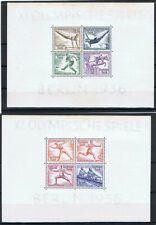DR Deutsches Reich Block 5 + 6 Olympiade 1936, postfrisch **