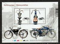 Canada #2646 Motorcycles Souvenir Sheet MNH