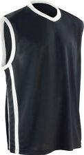 WS Spiro Men Adults Sportswear Basketball Quick-Dry Sleeveless V-Neck Top S278
