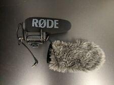 Rode VideoMic Pro+ Pro Plus On-Camera Shotgun Microphone Rycote Lyre pre-owned
