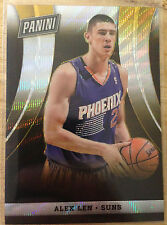 Alex Len 2014 Panini VIP Party National NSCC - GOLD Refractor RC #'d 6/10