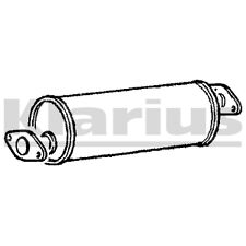 Replacement Exhaust Centre Middle Silencer 2 Year Warranty - Brand New!