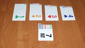 PLASTIC Bridge Bidding Cards (set of four), BRAND NEW