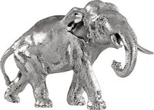 HALLMARKED SILVER MODEL ELEPHANT / STATUE (NEW)