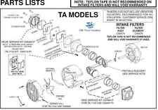 Thomas Compressor Gh 505b Taghlgh Models Major Servicerebuild Kit C87865 P