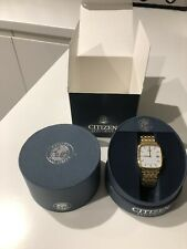 Citizen Eco-Drive men's gold watch