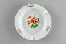CNC: Meissen Aschenbecher Bunte Blume 2 12 cm 2. Wahl Neuwertig