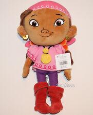 "11 1/2 "" Disney STORE IZZY Soft plush Doll Toy Jake and Neverland Pirates NWT"