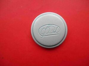 Russian Early metal Lens cap with logo for cameras FED Leica, lens INDUSTAR 22