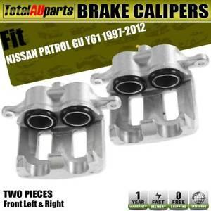 Brake Caliper Front Left Right for Nissan Patrol GU Y61 2.8L 3.0L 4.2L 1997-2012