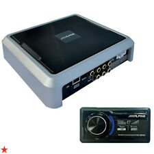 ALPINE PXE-0850S 8-CH CAR AMPLIFIER WITH DIGITAL SIGNAL PROCESSING, 25W RMS x 8