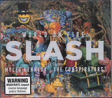 SLASH World On Fire CD - Slipcase