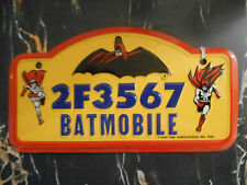 License plate 1966 batmobile license plate batman