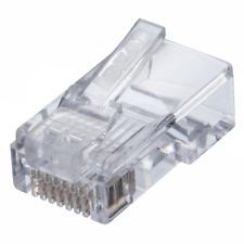 Ideal 85-371 Cat5E Feed-Thru Modular Plug 50 Pack