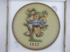 Hummel 1977 Annual Collector's Plate 7th In Series With Box Made In Ger 00006000 many