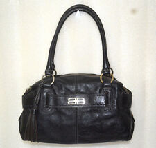 BALENCIAGA VINTAGE CLASSIC SATCHEL Leather Shoulder Bag *shoppire06*