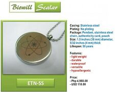 NEW Authentic Biowill Quantum Scalar Energy Pendant