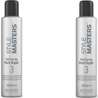 2x Revlon Style Masters Pure Styler 3 325 ml