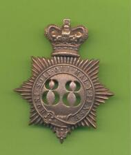 CONNAUGHT RANGERS.88th REGIMENT OF FOOT.SHAKO BADGE
