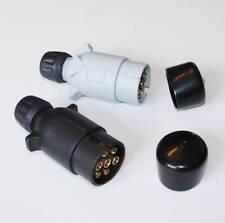Towing Electrics 7 Pin 12N & 12S Plastic Plugs & Covers for Car Trailer Caravan
