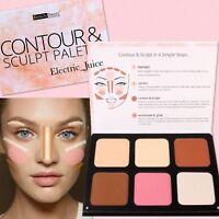Beauty Treats Contour Sculpt Palette Bronze Blush Highlight Face Makeup Powder