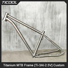 TICOOL Titanium MTB Frame Mountain Bike Touring Bicycle GR9 Ti  Ti3Al2.5V1.5kg
