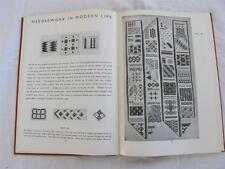 """VINTAGE 1940's """"ADVENTURES IN EMBROIDERY - NEEDLEWORK SEWING INSTRUCTION BOOK"""