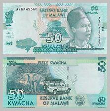 Malawi 50 Kwacha 2016 p64c unz.