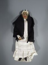 Latin Central or South American Doll Figure of an Elderly lady ca. 19-20th c.