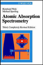 Atomic Absorption Spectrometry by Welz, Bernhard, Sperling, Michael