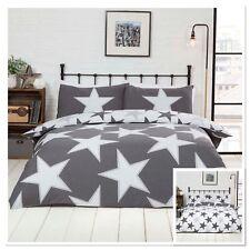 Rapport All Star Novelty Reversible Duvet Cover Bedding Set Blue, Grey or Red