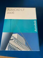 Autodesk AutoCAD LT 2006 Design Software with Serial Number