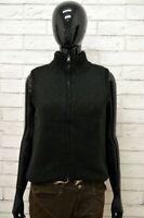 Maglione Donna REPLAY Taglia M Felpa Pullover Sweater Woman Nero Lana Smanicato