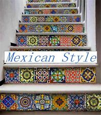 New!-------- Mexican Style Wall Tile Sticker Kitchen Bathroom Decorative