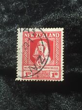 SCOTT #B1 1929 NEW ZEALAND 1 cent STAMP USED
