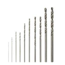 10 Piece HSS Drill Bit Set Stainless Steel Metal Sheet For Rotary Tool 2017 KJ