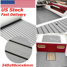 "94x35"" Marine Boat Flooring EVA Foam Yacht Teak Decking Sheet Carpet Floor Pad"