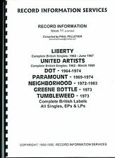 LIBERTY / UNITED ARTISTS / DOT / PARAMOUNT ...(Record Information Services)