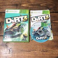 DiRT 3 (Microsoft Xbox 360, 2011)- Complete