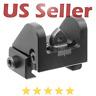 Tactical Sub-compact Rear Sight Shotguns 10/22 Rifles Adjustable Picatinny Mount