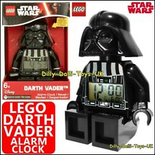 LEGO Star Wars DARTH VADER Digital LED Alarm Clock Minifigure Kids Bedroom New