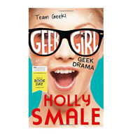 Geek Drama Team Geek Geek Girl by Holly Smale Single Book Paperback English NEW
