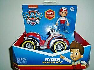 "Nickelodeon Paw Patrol Ryder Rescue ATV ""NEW"""