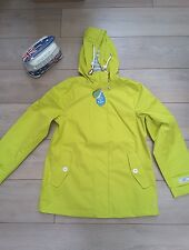 Joules Coast WATERPROOF JACKET Bright Lime 14. JOULES COAST RAIN COAT GREEN BNWT