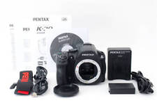 PENTAX K-30 body 16.3MP Digital SLR Crystal Black with strap charger battery