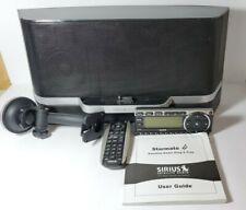 Sirius Starmate 4 Xm Satellite Radio Receiver w/Portable Dock Poss Lifetime Sub?
