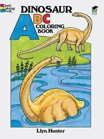 Dinosaur ABC Coloring Book (Dover Coloring Books) by Llyn Hunter, Coloring Books